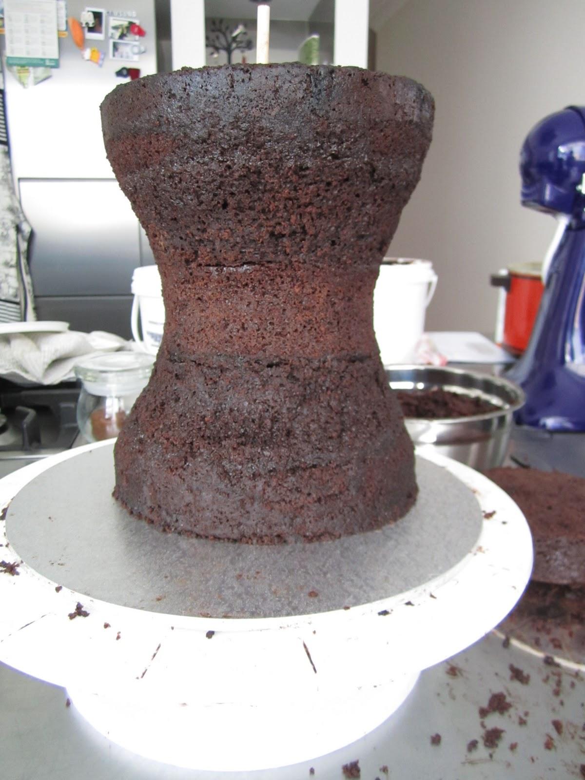 Putting Hot Cake In Fridge